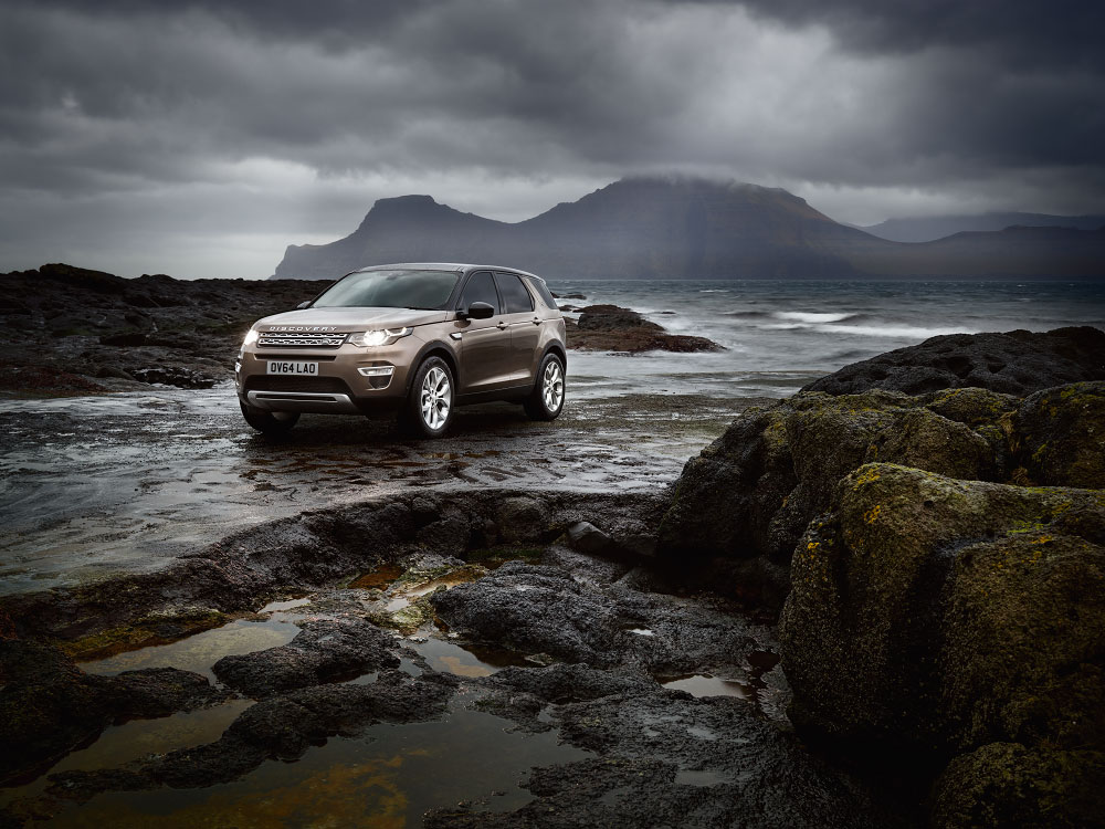 stories Land Rover, Faroe Islands photography