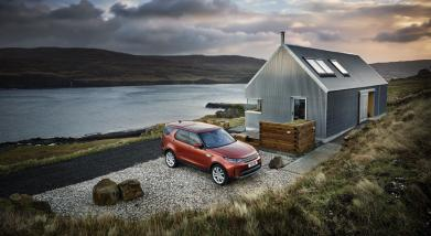 stories Land Rover, Isle of Skye photography